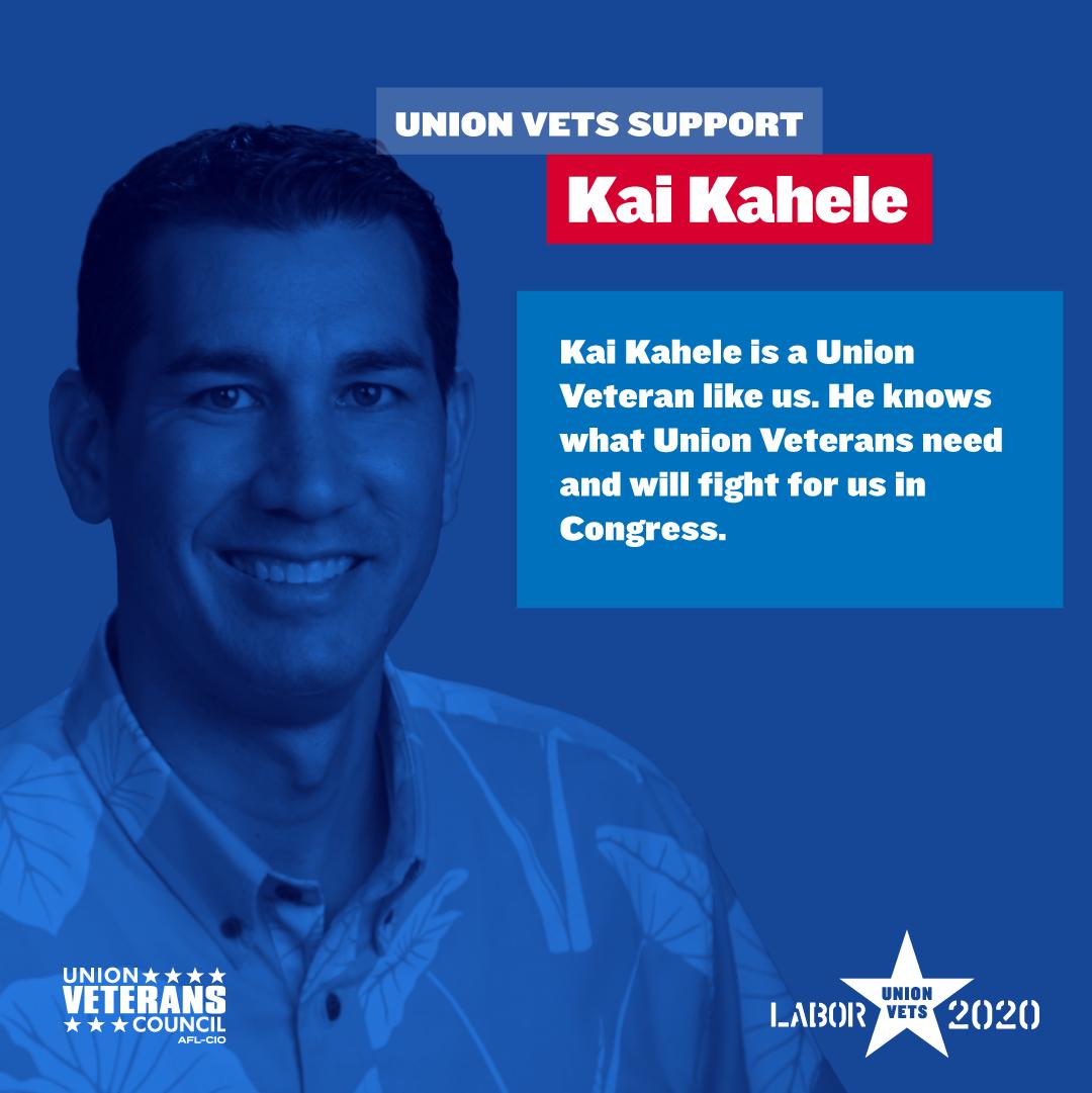 Union Veterans Support Kai Kahele
